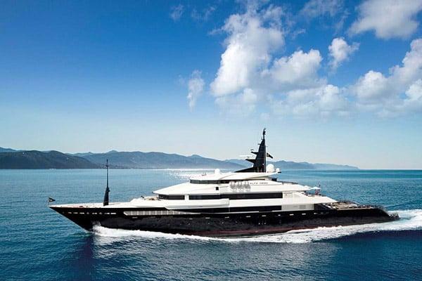 Yacht ALFA NERO (Oceanco Custom)