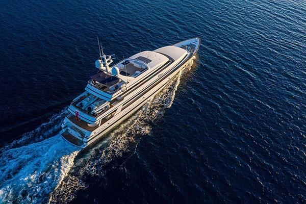 Yacht VA BENE (Euroship Custom)