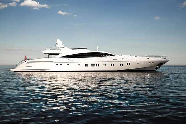 Yacht DA VINCI (Mangusta 165E)