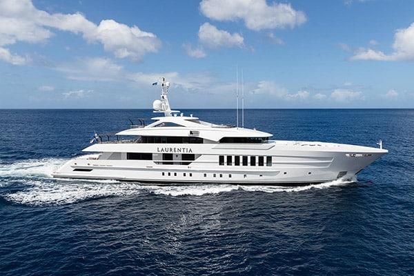 Yacht LAURENTIA (55m Steel)