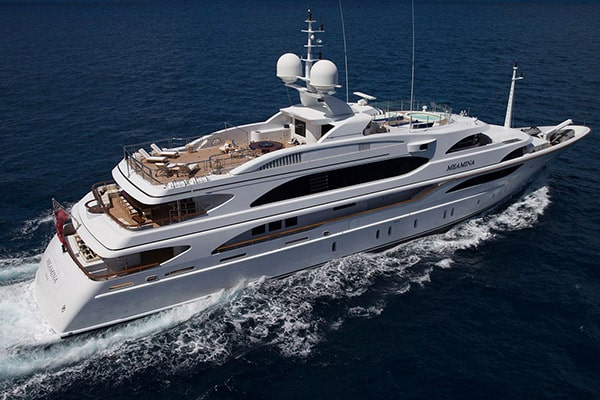 Yacht MEAMINA (Benetti Custom)