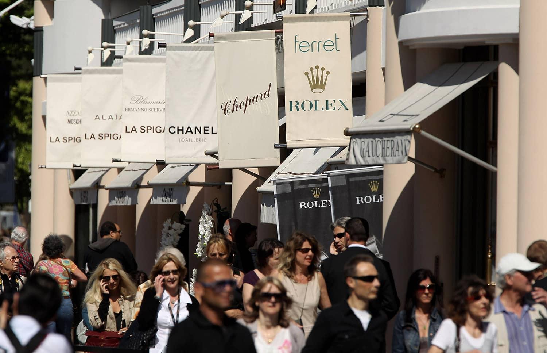 Shopping de luxe à Cannes