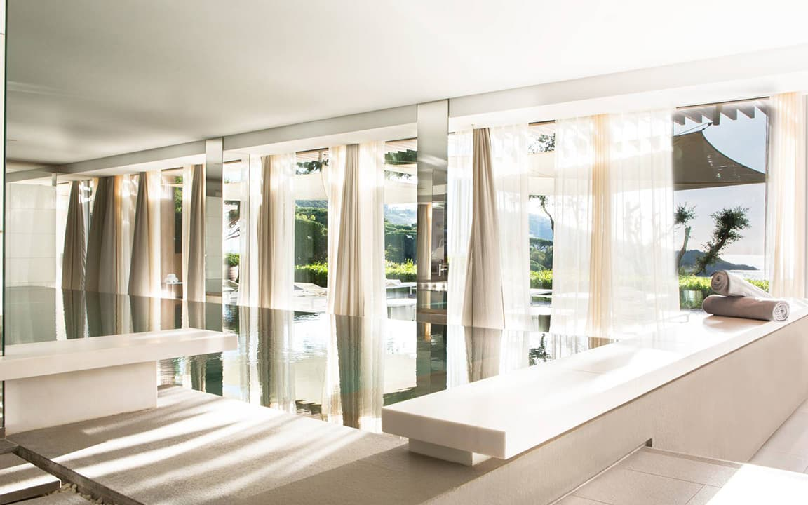 Swimming pool of the Spa de La Réserve Ramatuelle